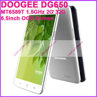 Wholesale Mini Pad Tablet Cell Phones DOOGEE DG650 Unlocked Android MTK6589T Quad Core GHz G G inch IPS Screen px NFC Camera MP