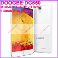 Wholesale DHL DOOGEE DG650 Android Cell Phones MTK6589T Quad Core GHz G G inch IPS Screen px Camera MP OTG NFC Mini Pad Tablet