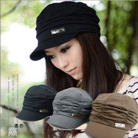 Wholesale Korean Version Spring and Winter Gorro Cap Lady s Fashion Drape Delicate Women Hats Solid Color for