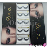 Wholesale 10 Pairs A Box Human Hair Mink Eyelashes Natural Real Eyelashes Extensions