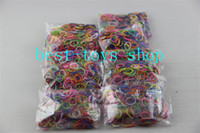 Wholesale Best Toys Provided Rainbow Loom kit bag Rubber band bag