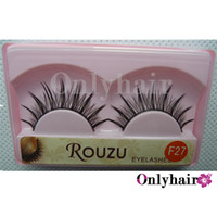 Wholesale 10 Pairs set Can Mix Style False Eyelashes Semi hand Made Human Eyelashes