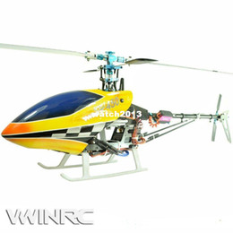Free shipping by EMS RTF VWINRC 450 SPORT 450 size heli TREX ALIGN 6 CH rc helicopter +Alu box