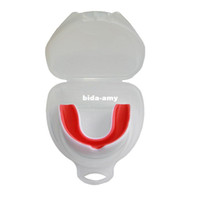 Wholesale mouth guard Gum shield Gear non toxic multicolor Teeth Protection for soccer basketball boxing MG white blue and red