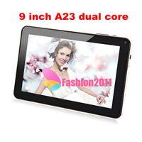 Precio de Tablet 9 inch-AllWinner 9 Pulgadas A23 Tablet pc de Doble Núcleo, dos Cámaras, Pantalla Táctil Capacitiva WIFI 512 MB, 8 GB de la Tableta PC MID A23 Q88 Android 4.2 Libre DHL 10pcs