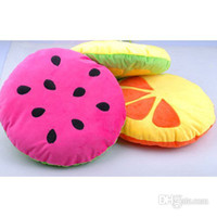 Wholesale High Quality Soft Small Size Pet Cushion Bright Colors Fruit Pattern Thick Pet Nest CW031
