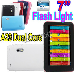 Wholesale EKEN A70H Inch Dual Core A23 GHz Android Tablet PC Dual Camera M RAM GB USB Port Skype Webcam Wifi Capacitive Screen