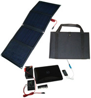 Wholesale Folding Solar Panel Kit V Watt Monocrystalline PET Solar Panel Solar Controller Regulator Solar Car Battery Laptop Phone Charger