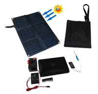 Wholesale Solar Car Charger Foldable Watt Monocrystalline Solar Panel Battery Charger V Solar Phone Laptop Charger
