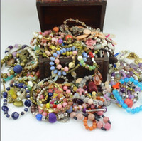 Wholesale New fashion bracelets wristband vintage beaded pendants charm bracelet stone gem beads jade JADEITE Bangle jewelry colorful bracelet luxury