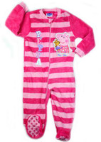 Girl Spring / Autumn  peppa pig one-pieces romper peppa pig baby girls jumpsuits baby coral fleece rompers children sleeping bags kids pajamas free shipping