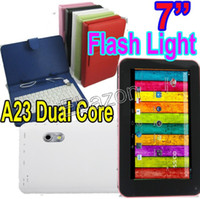 7 inch android tablet eken - EKEN A70H Inch Dual Core A23 Android Tablet PC Inch Keyboard Leather Case Dual Camera M RAM GB USB Port Wifi Capacitive Screen