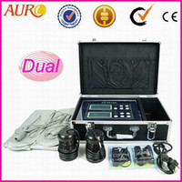 Wholesale Promotion New arrival AU Double system home use Detox machine equipment array ion for foot care