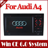 2 DIN audi a4 navigation - In Dash Din Car DVD Player for Audi A4 with GPS Navigation Stereo Bluetooth Radio TV FM Map USB AUX Audio Video Navigator Stereo