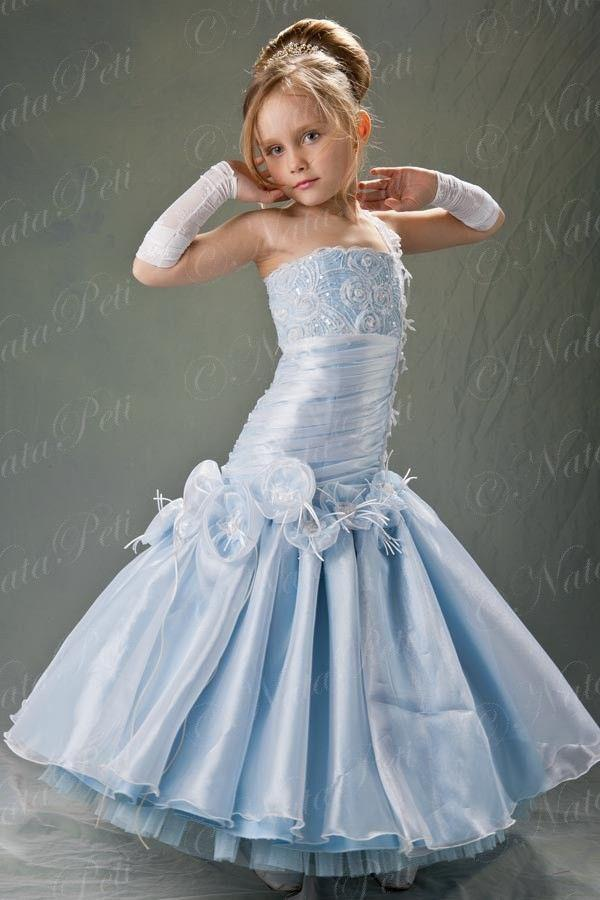Wholesale 2014 Lovely Mermaid Style Pageant Flower Girl