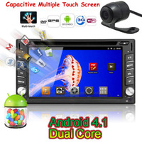 2 DIN android head unit - Android Car DVD Player GPS Navigation Dual Core CPU Processor Din In Dash Head Unit Car Stereo Radio PC Capacitive Screen Bluetooth TV