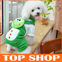 Wholesale Dog Apparel Pet Clothes Winter Paparazzi Shirt Zero Purse Four Legged Frog Sweater JJ0031