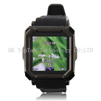 Wholesale i900 Watch Phone Single SiM Card Camera Bluetooth FM Anti lost Alarm Inch Touch Screen Unlocked Quad Band Mobile Phone
