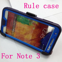 Cheap Regular cover phone shell defender shock Proof Plain case for galaxy S5 S4 S3 Note 3 4 iphone 4S 5 5S 5C 6 plus clip retail box solid colors