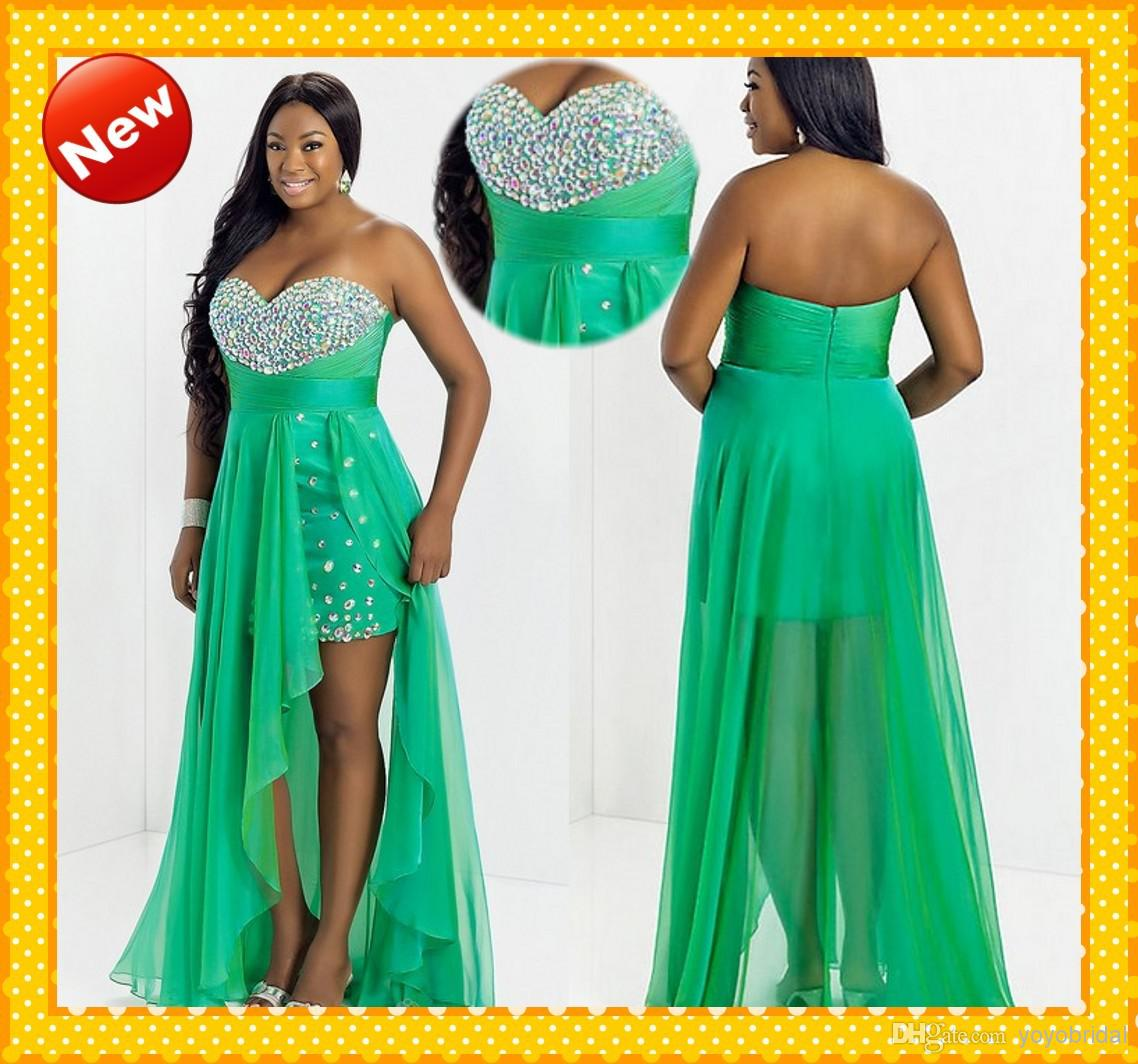 Short green plus size prom dresses – Dresses dragon blog