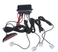 Wholesale ar LED Parking Reverse Backup Radar System with Backlight Display Sensors colors