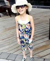 baby girl kids 2pc set flower jumpsuit floral jumpsuits lace...