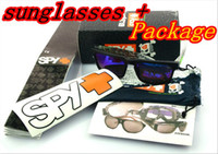 Wholesale Good quality HOT SALE SPY OPTIC KEN BLOCK HELM Sports Sunglasses With Original Packs Brand Outdoor Sun glasses COLORFUL LENS MOQ