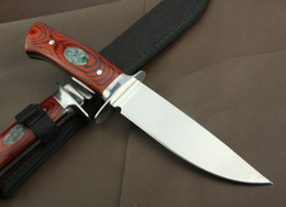 Wholesale New Wood handle Fixed Blade Survival Bowie Hunting Knife K316B