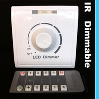 White dim - IR Dimmer switch V V with for Led lights infrared Remote control Adjust light up and down dimmer switch High quality price