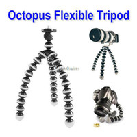 Wholesale New Digital Camera Mini Tripod Stand Flexible grip Octopus Bubble Pod Monopods Gorillapod for Canon Nikon Sony