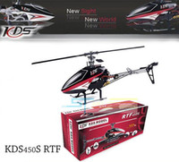 Wholesale KDS S RTF helicopter CH G D remote control RC helicopter with KDS800 amp Gift Box KDS450S ready to fly