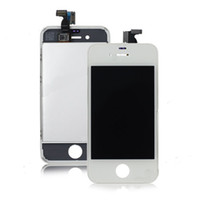 Wholesale 100pcs x LCD Display Touch Screen Digitizer Full Assembly for iPhone s with Earpiece Anti dust Mesh Installed Quality A Free DHL