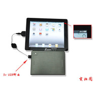 Wholesale universal emergency charger with mAh Battery for Laptop notebook tablet PC cell phone ipad More than mah
