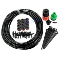 Wholesale 40pcs free fedex m Garden Plants Irrigation Patio Misting Cooling System Micro Dripper Kit
