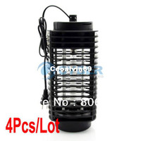 Wholesale 4Pcs V Electric Lantern Fly Flying Insect Pest Bug Zapper Mosquitoes Killer TK1054