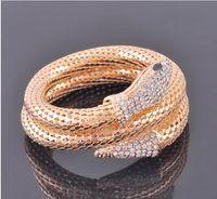 Wholesale Special Price Snake Bracelet Fashion Selfdom Bracelets With Drill Retro Banger