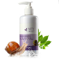Wholesale AFY Snail Body Cream Milk Body Moisturizing Repair Nourish Whitening Whole Body Remove Finelines Smooth Skin Anti aging Whiten Body Lotion