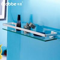 Wholesale Space aluminum bathroom accessories shelf glass shelf bathroom corner shelf
