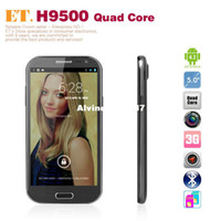 Cheap Free shipping 5.0 Inch Feiteng H9500 MTK6589 Smartphone Android 4.2 1G RAM 8G ROM Dual Sim Dual Camera 12MP
