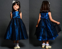 Cheap 2014 New Fashion Bateau Neck Beaded Sequined Ball Gown Tulle Zipper Flower Girl Dresses For Wedding Little Girl Evening Gown