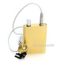 Handheld Rechargeable Yellow Yellow Portable LED Head Light Lamp for Dental Surgical Medical Binocular Loupes