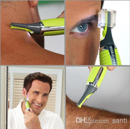 Wholesale Fashion Hot New All in One Men s Mini Touch Shaver Nose Ear Neck Eyebrow Hair Trimmer Remover