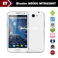 Cheap Latest 5.7 inch Bluebo N9000 Android 4.2 Phone MTK6589T Quad Core 1.5GHz 12.0MP Camera WIFI Bluetooth 1GB RAM 4GB ROM
