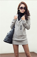 Wholesale New Autumn Women s Sweaters Hoodies Long Sleeve Long Tops Tops Knitted Knitwear Sweater
