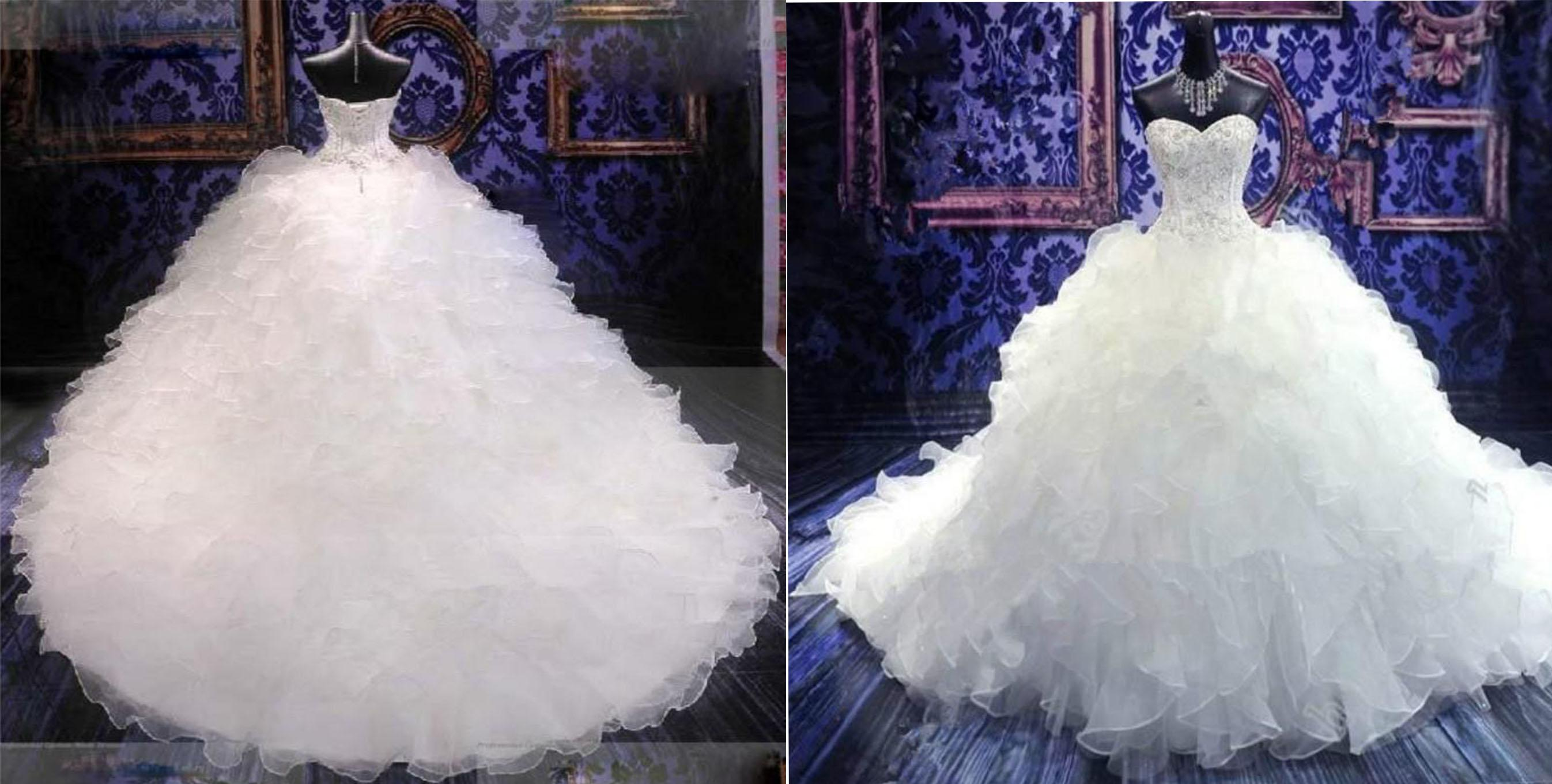 Extravagant Princess Wedding Dresses : Gallery for gt extravagant bling wedding dresses