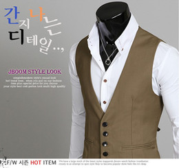 Wholesale 2013NWT Fashion Men s Vests British Slim Fit Suit Vests M0855