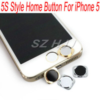 Wholesale Replacement Home Button With Metal Ring for iPhone Same Look as for iPhone S