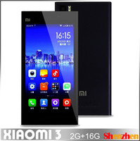 Wholesale Newest Original Xiaomi Mi3 M3 Phone Qualcomm CPU GHz Quad Core Android Phone quot Inch IPS GB ram GB rom Phone
