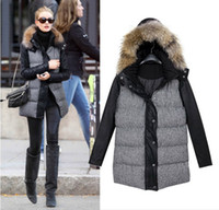 Down Coats coats and jackets - 2015 new winter Europe and America women quilted jacket prevalent women coat down jacket PU S XL