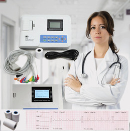 Wholesale Factory Sale New Digital EKG ECG Machine Electrocardiagraph One Channel Printer CE CCC approved